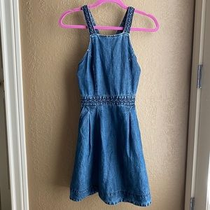 Abercrombie and Fitch Short Braided Jean Dress